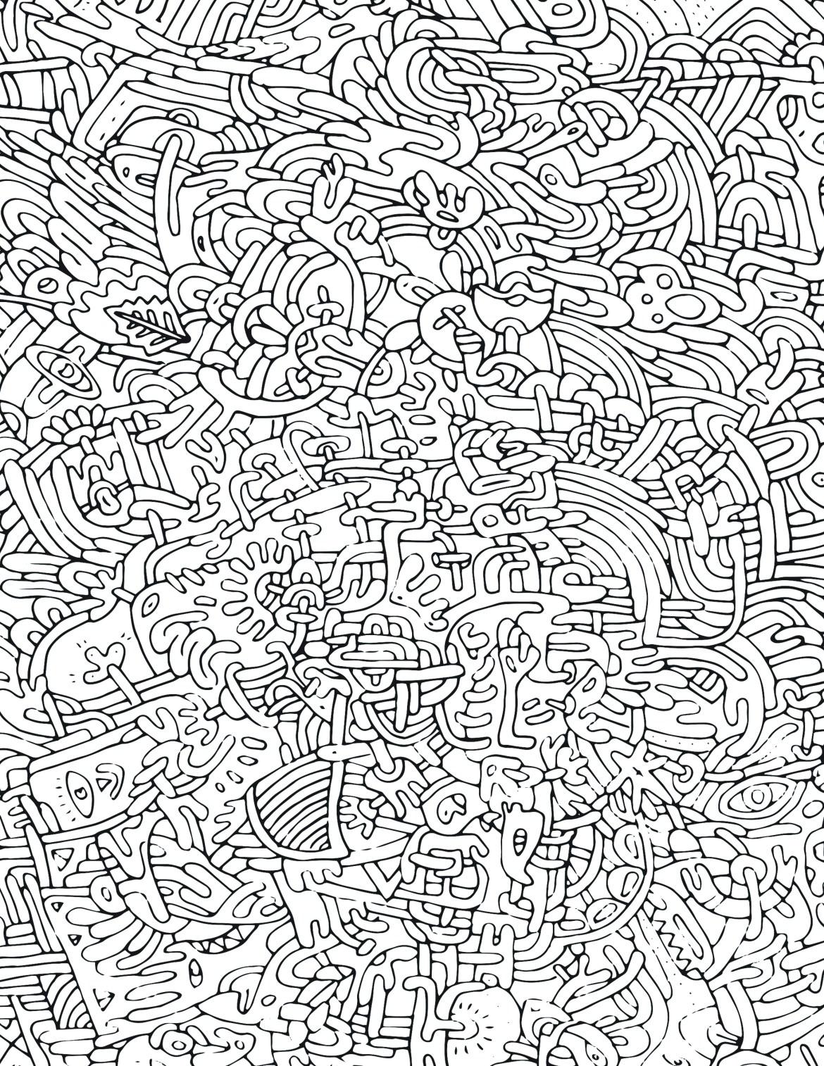 Page De Coloriage Pour Adulte Pattern Tres Difficile Artherapie Ca