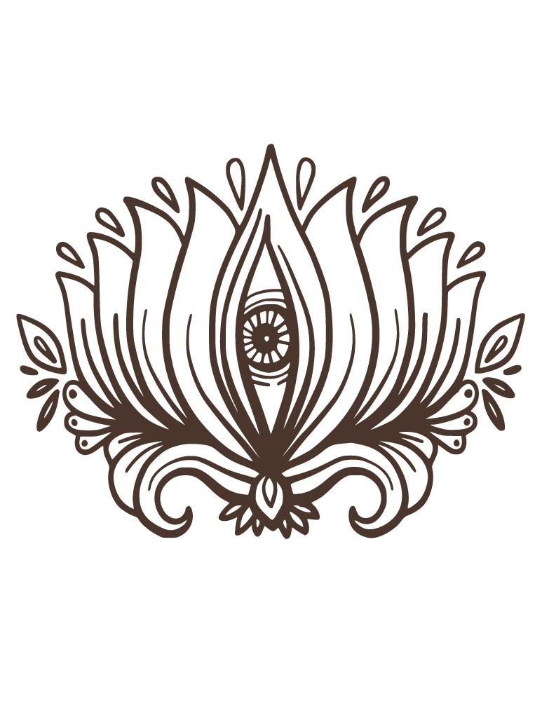 Tattoo Henne Fleur De Lotus A Dessiner Gratuit Artherapie Ca