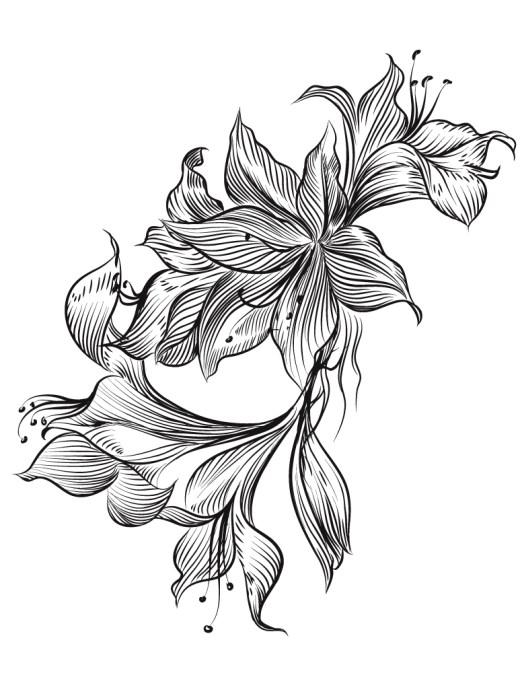 Magnifique fleurs à imprimer gratuit pour adulte