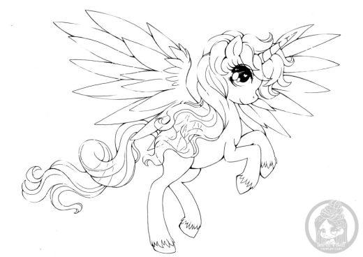 Mon Petit Poney Alicorn My Little Poney par YamPuff