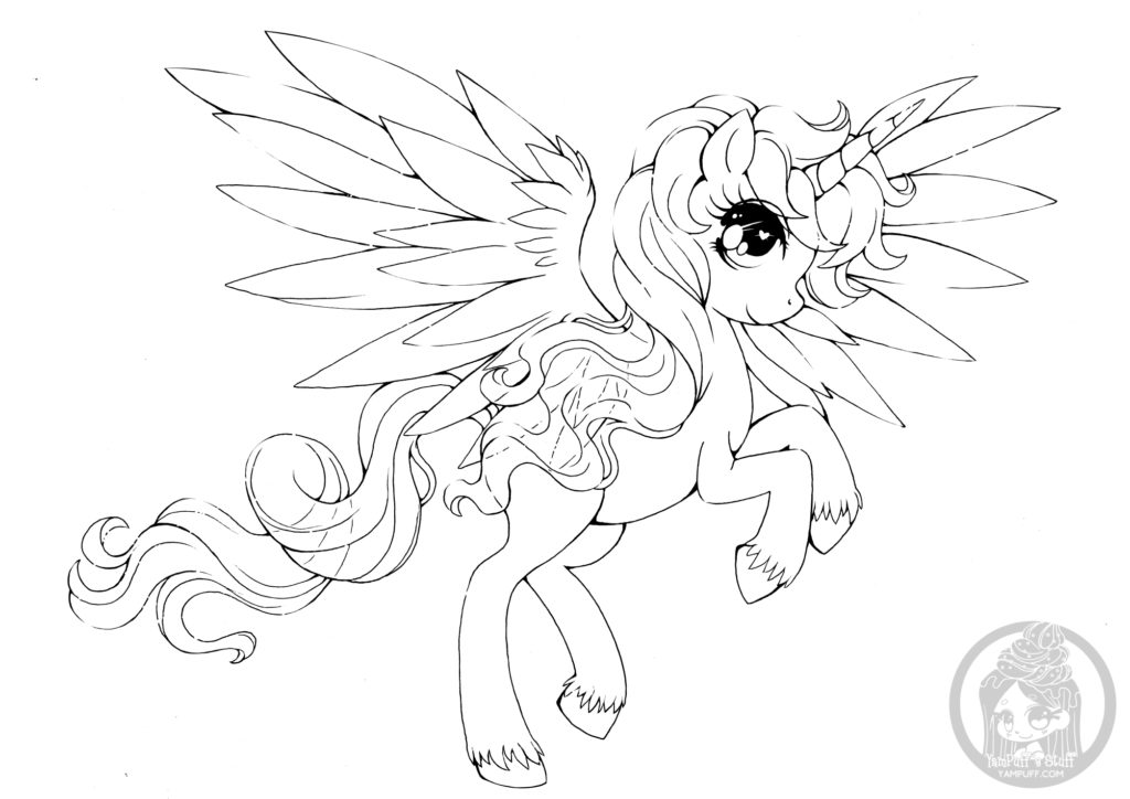 Mon Petit Poney Alicorn My Little Poney par YamPuff