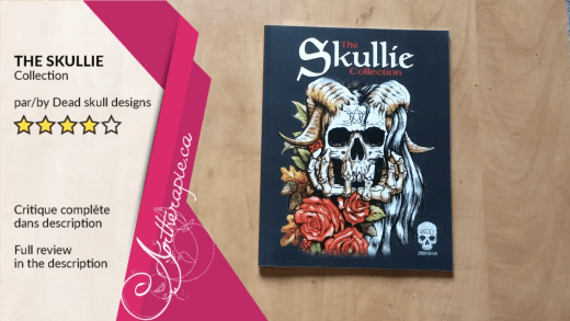 Critique du livre The Skullie Collection par Dead Skull Designs