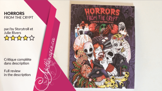 Critique du livre Horrors from the Crypt par Storytroll Studio