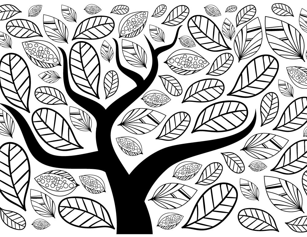 Impression dessin arbre automne site de coloriage - Arbre en automne dessin ...