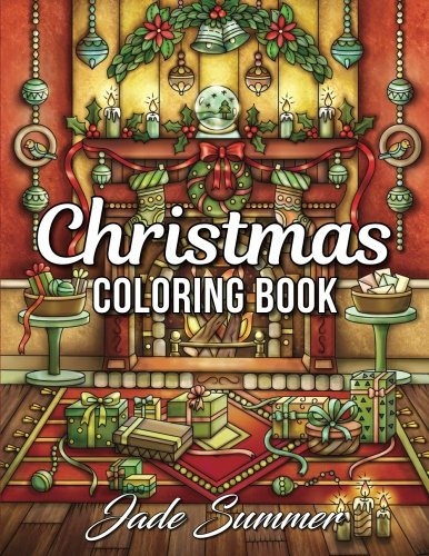 Jade Summer Christmas coloring book