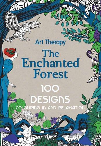 Critique du livre Art Therapy The Enchanted Forest 100 Designs
