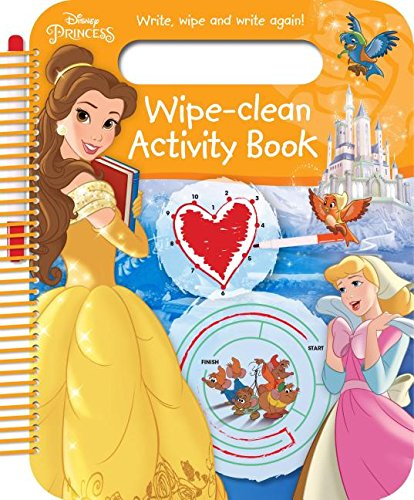 Disney Princess wipe-clean Activity Book Parragon