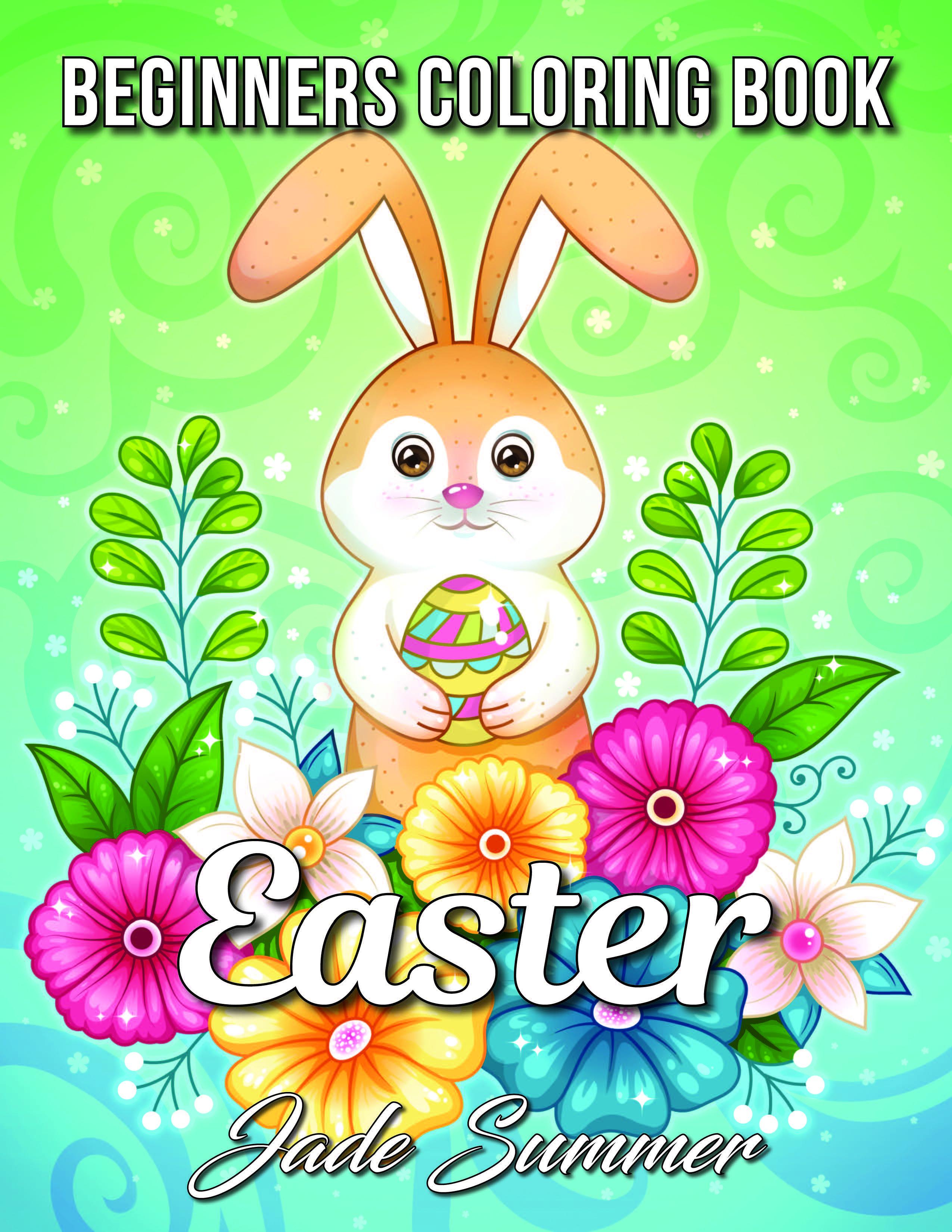 Easter Beginners coloring book Jade Summer