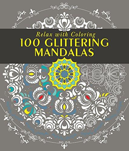 100 Glittering Mandalas
