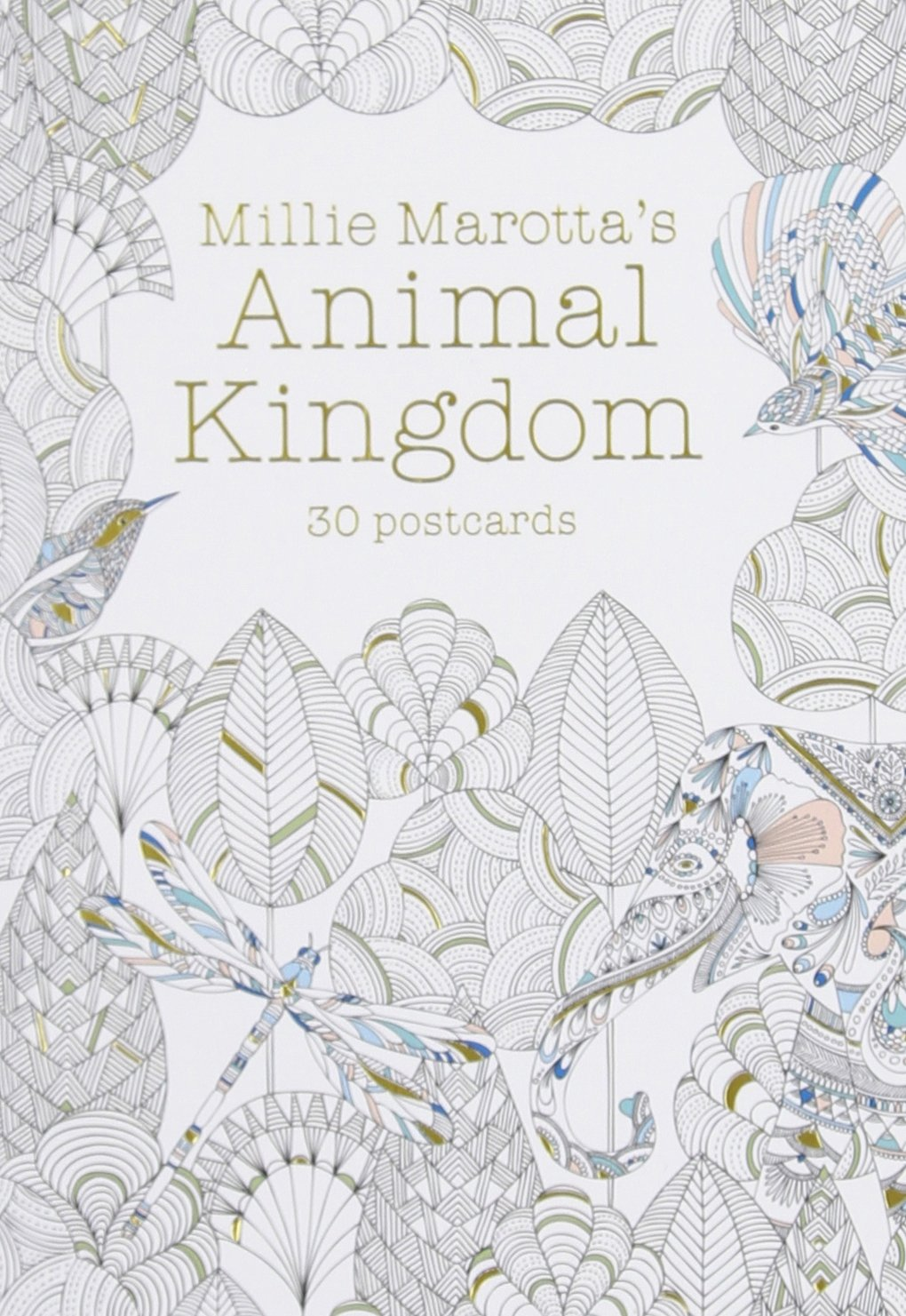 Critique du livret de cartes Animal Kingdom de Millie Marotta
