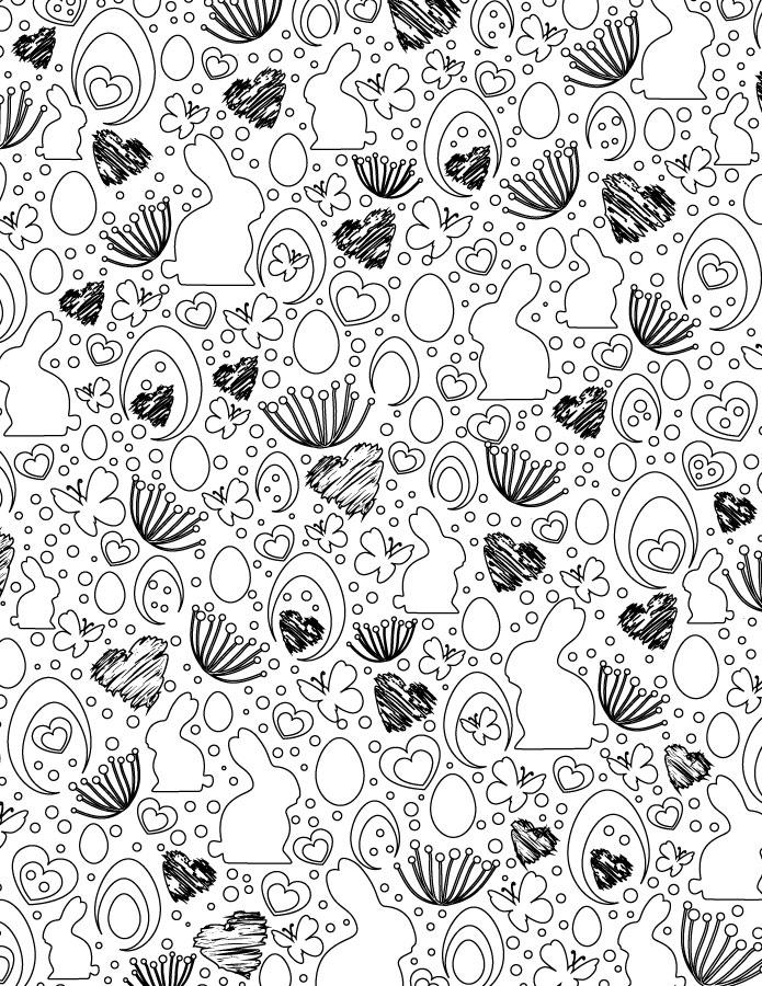 Page de pâques sur notre site pour imprimer des coloriages
