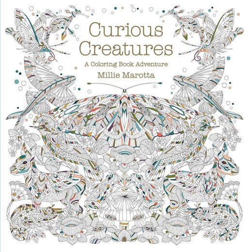 Notre avis sur le livre Curious Creatures de Millie Marotta