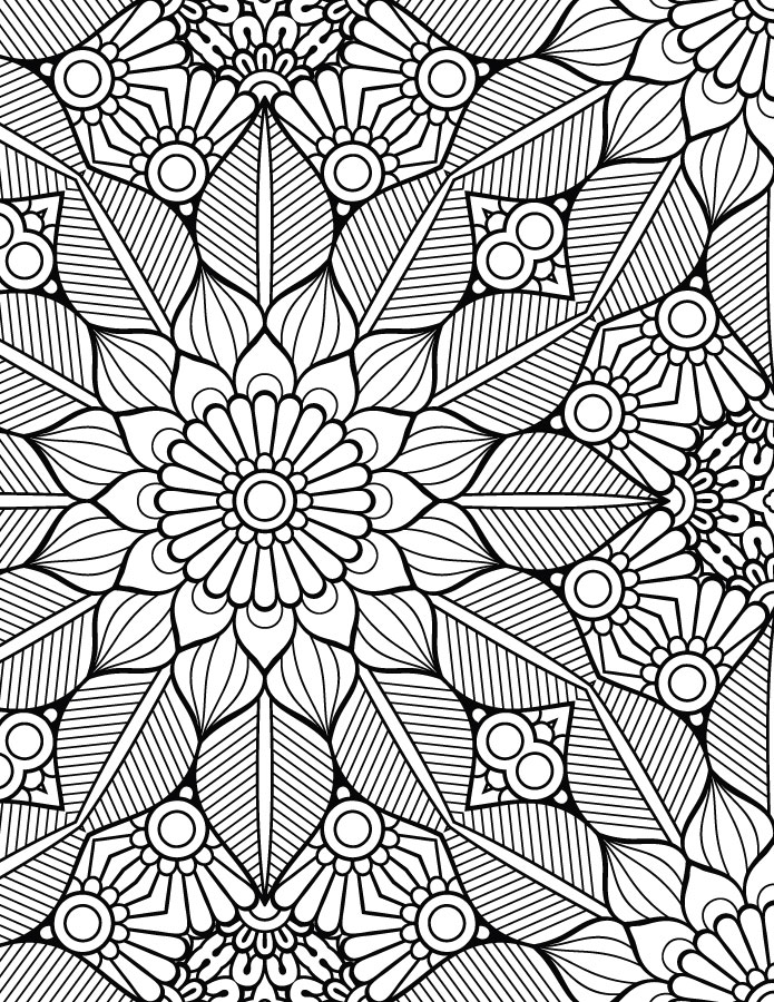 Coloriage mandala adulte artherapie pour imprimer - Artherapie.ca