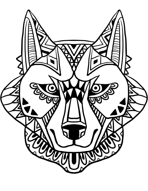 Dessin a dessiner pour adulte art thérapie bestiaire
