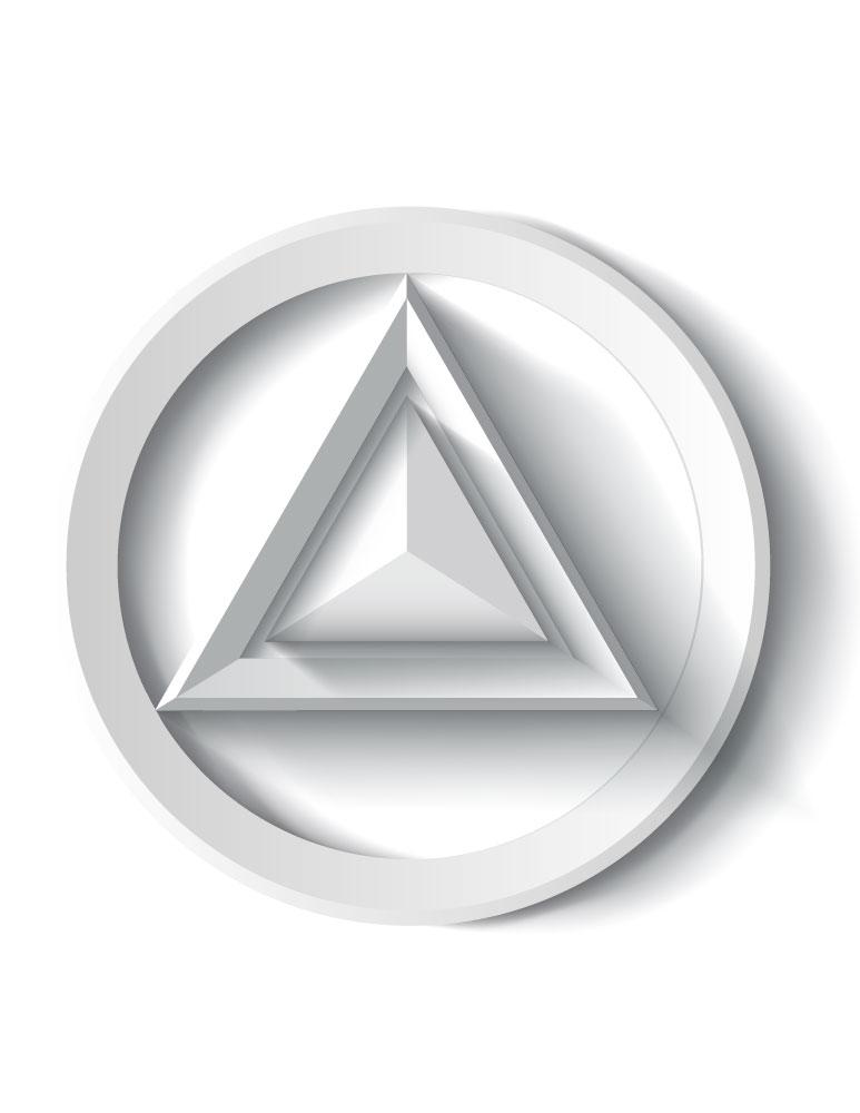 Imprimer dessin 3D illusion artherapie page grayscale
