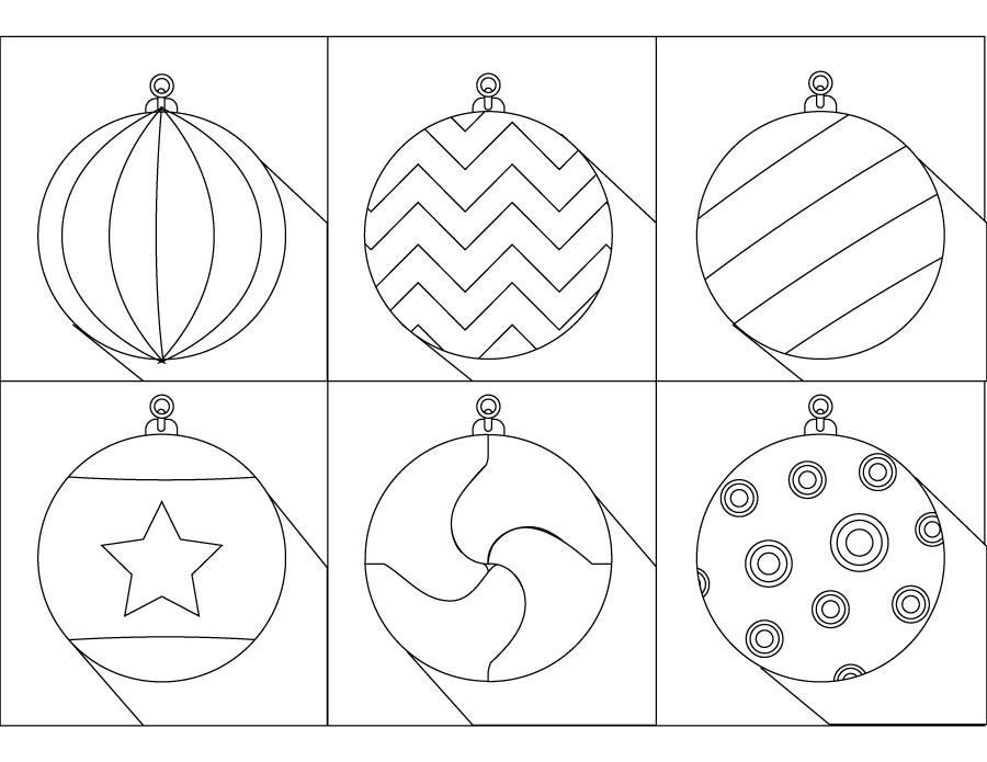 Boules De Noel Dessin Pour Enfant A Imprimer Coloriage Noel