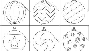 Jeux De Coloriage Boules De Noël à Imprimer Artherapieca