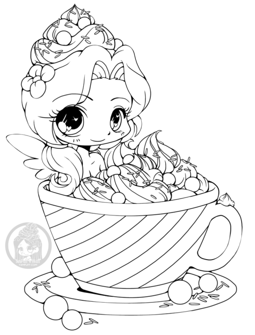 Coloriage Chocolat Kawaii.Chocolat Archives Artherapie Ca
