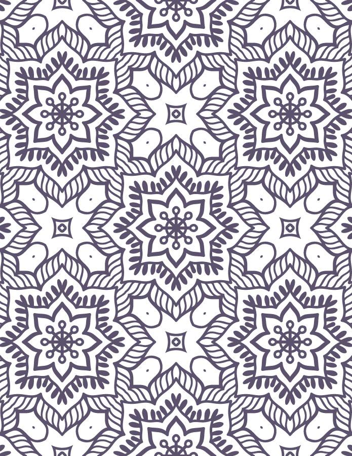 Mandala à imprimer coloriage pour adulte