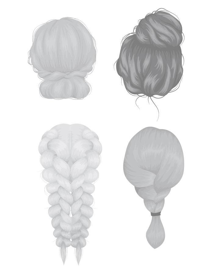 Apprendre à dessiner les cheveux