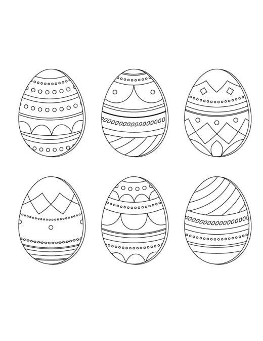 Faire des dessins de Pâques sur oeufs
