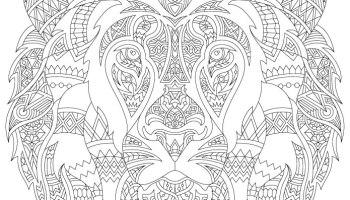 Coloriage De Lion Difficile.Disney Lion King 2019 Gratuit Affiche Artherapie Ca