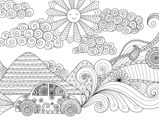 Jeux dessin voyage beetle Bimbimkha