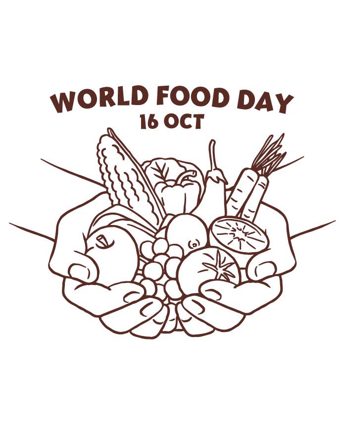 Page journée mondiale de la nourriture