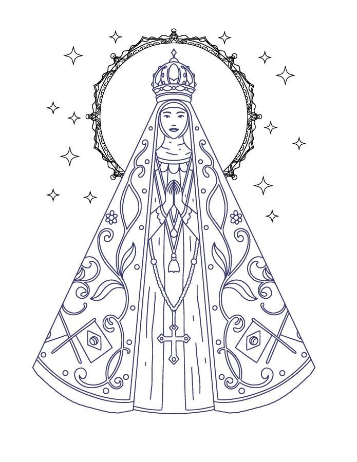 Image gratuite Notre-Dame d'Aparecida