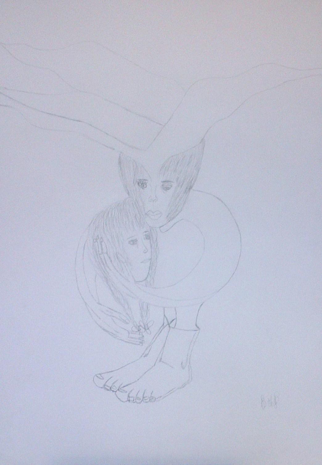 bd-aquarelle-n-812-beatrice-fait-un-geste-de-tendresse-a-sa-personnalite-bg-dessin