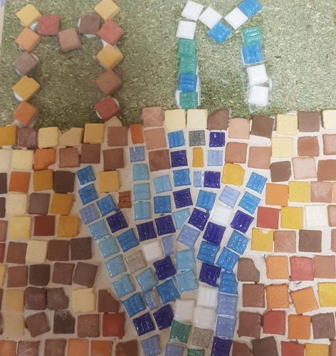 BD – Atelier mosaïque pour les personnes migrantes à Tours