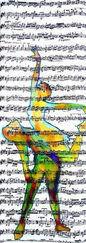 BMP – Un mouvement de danse sur des notes de musique