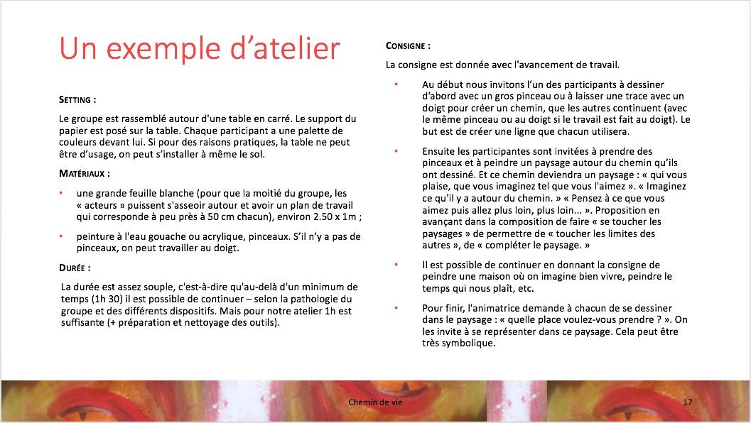 Chemins de vie p.17