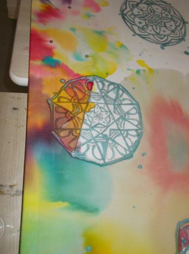 Peinture sur soi 5