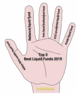 Top 5 Best Liquid Funds 2019