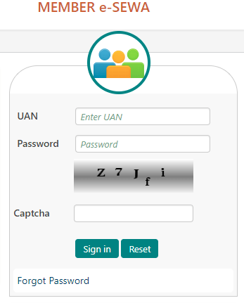 How to withdraw PF online with UAN Step 1