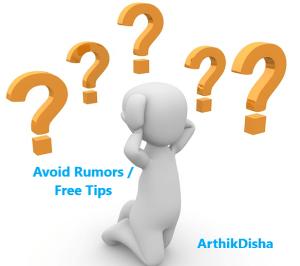 Avoid Rumors.Free Tips. Stock markets basics India