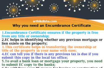Encumbrance Certificate Requirements