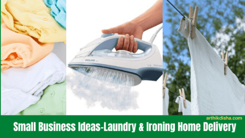 Small Business Ideas-Laundry & Ironing Home Delivery-ArthikDisha