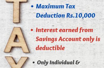 Section 80TTA Deduction-ArthikDisha