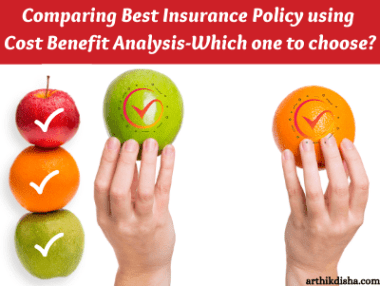 Comparing Best Insurance Policy using Cost Benefit Analysis-ArthikDisha