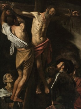 Caravaggio, Crucifixion of St Andrew, Cleveland Museum of Arts, authorship disputed