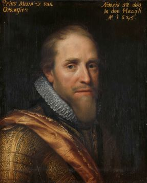 Studio copy, formerly part of a series of portraits in the Orange's palace at Honselaarsdijk, ca. 1609-1633, Rijksmuseum