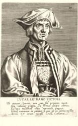 Lucas van Leyden, from Hieronymus Cock's book Pictorium Aliquot Celebrium,, 1572