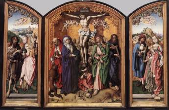 11. Bartholomew Master, Crucifixion Altarpiece, 1495-1501, Wallraf-Richartz-Museum, Cologne