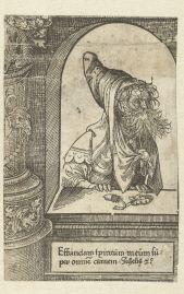 19. The Prophet Joel, ca. 1523, 15.5x10.2 cm, Rijksmuseum