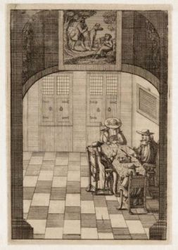 A rare glimpse into the Burgomasters Chamber in 1690, Amsterdam City Archives