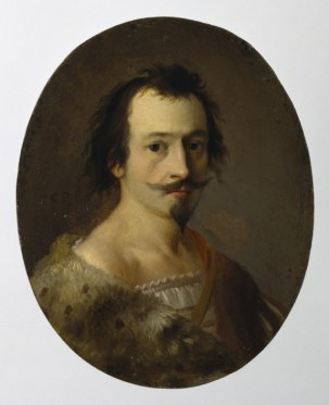 Jean Pellicorne by Cornelis van Poelenburgh, c. 1626, oil on copper, 9.8x7.5 cm), Walters Art Museum