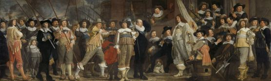 (4) Bartholomeus van der Helst, the Company of District VIII commanded by Captain Roelof Bicker, 1639(?), 235x750 cm, Rijksmuseum