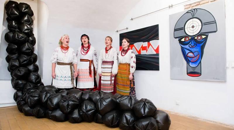 Донецькі художники боротимуться з «інформаційним черв'яком» в київському Музеї гетьманства